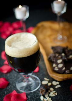 Cupid's Guide: Aphrodisiacs Love Craft Beer    Recipes and craft beer pairings: Ménage-à-Trois Guacamole, Broiled Oysters with Garlic-Basil Butter and Chocolate Fig Almond Bark