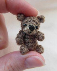 Oh, so tiny! Teddy bear