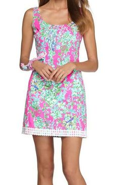 Lilly Pulitzer Eaton Shift Dress in Southern Charm
