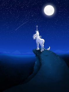 The Last Unicorn Art by Stories of Griffins and Unicorns