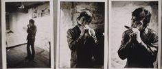 1967 photos of Leonard Cohen taken in Montreal by Gabor Szilasi.