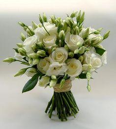 ** Dear Donna, Sending you a bouquet of good wishes for a wonderful week ahead. Summer Wedding Bouquets, Bride Bouquets, Flower Bouquet Wedding, Floral Bouquets, Floral Wedding, Freesia Bouquet, Hand Bouquet, Wedding Centerpieces, Wedding Decorations