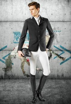 Equiline Mens George Modern Competition Jacket