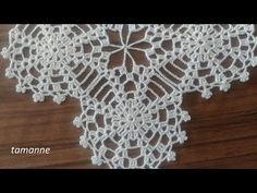 Crochet Room Set Lace Model Making Vidéo annotée . Tığ İşi Oda Takımı Dantel Modeli Yapılışı Videolu Açıklamalı … Crochet Room Set Lace Model Making Vidéo Annotée le # Handiwork # femme Crochet Bedspread Pattern, Crochet Motifs, Crochet Cushions, Crochet Tablecloth, Crochet Lace Edging, Crochet Squares, Crochet Patterns, Quick Crochet, Crochet Round