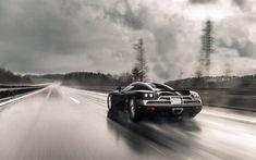 Koenigsegg CCXR, 2016, Competition Coupe X, Supercar, rain, speed, Koenigsegg