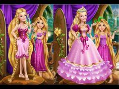Tangled Rapunzel Magic Tailor - Disney Princess Rapunzel Games