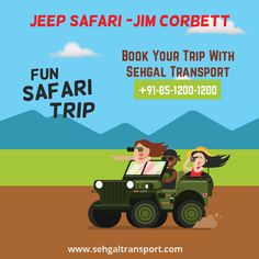 Best place to see wildlife in abundance🐯 To plan your next safari trip to #JimCorbett with #SehgalTransportService. goo.gl/ikfrKW