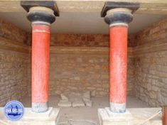 Knossos Crete Greece: Knossos is the largest Minoan palace. The palace was built around 2000 BC. People suspect that the palace was destroyed Santorini, Mykonos Greece, Crete Greece, Athens Greece, Greek Isles, Minoan, Greece Islands, Olympus Digital Camera, Corfu