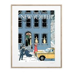 The New Yorker 11 New York Cover by Floch
