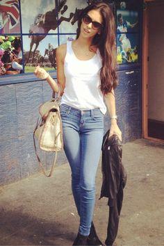 Georgia Salpa Jeans and T