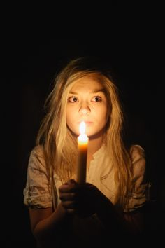 The shadows wanted her to stay in the dark, to remain hidden. But she got hold of a match and lit a candle. It was a small candle, barely big enough to create any light at all, but it drove away the whispers brushing by her ears and the cold seeping into her heart.