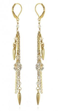 Spike and Swag Earrings   www.capwell.co