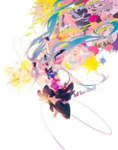 Tell Your World - Hatsune Miku