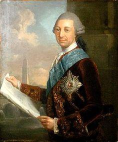 FEDERICO II 1717-1785  DUCA DI MECLEMBURGO-SCHWERIN  1756-1785