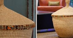 Big kitwaro baskets for storage by WomenCraft Social Enterprises
