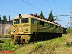 Abandoned trains of the Soviet Union. I'd love to go poking around.
