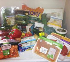 7 day healthy meal plan and grocery list - this is good for the week after holiday season!!