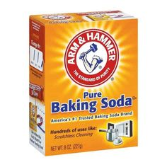Arm & Hammer Pure Baking Soda, 8 Ounce (Single Pack): America's No 1 trusted baking soda brand. An open box of baking soda naturally absorbs unwanted smells and odors. Baking Soda Face, Baking Soda Shampoo, Baking Soda Uses, What Is Baking Soda, Chocolate Chip Cookies, Amazon Auto, Arm And Hammer Baking Soda, Soda Brands, Washing Soda