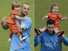 Julian Sneijder and Dina Layla van Persie should totally date when they're older.