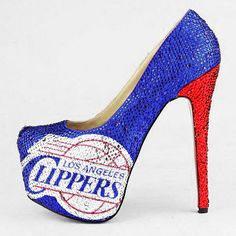 HERSTAR™ Los Angeles Clippers Limited Edition Crystal Pumps