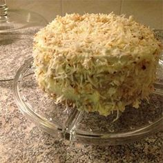 """Incredibly Delicious Italian Cream Cake 