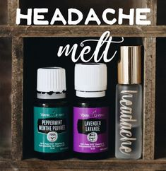The easiest and best natural headache remedy ever made with young living essential oils. Click through to read more, or pin to save for later!
