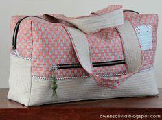 Cargo Duffle Bag: Travel Handmade!
