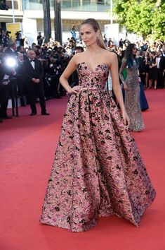 Natasha Poly - All the Breathtaking Looks From the 2016 Cannes Film Festival - Photos