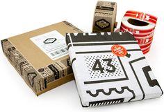 Quarterly Co. packaging by Oak Studios
