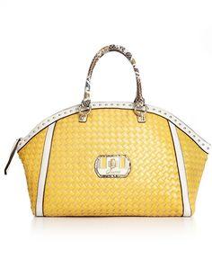 GUESS Handbag, Kiera Dome Satchel -  Macy's