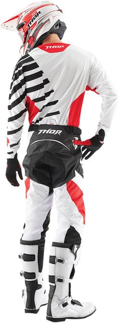 THOR CORE ORBIT BLACK/RED (back view)