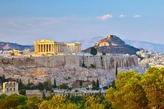 Seven-Day, Five-Night Tour of Athens and Mykonos with Roundtrip Airfare and Hotels from Key Tours International Patras, Oh The Places You'll Go, Places To Travel, Travel Destinations, Places To Visit, Mykonos, Athens Acropolis, Athens Greece, Athens City