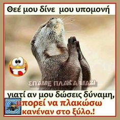 Funny Greek Quotes, Funny Quotes, Kai, Just Kidding, Funny Pins, True Words, Jokes, Humor, Sayings