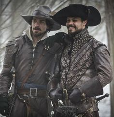 Aramis and Porthos
