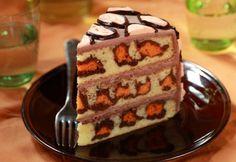 Рецепты Лизы Глинской. Леопардовый торт