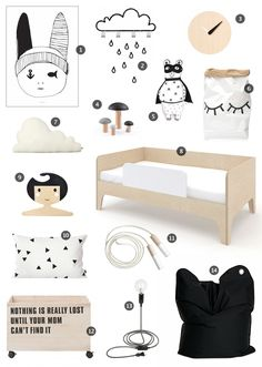 Sleeping Things Simple | Little Gatherer | black and white