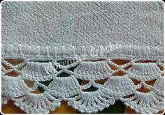 puntillas amarillas Crochet Collar Pattern, Crochet Edging Patterns, Crochet Lace Edging, Crochet Borders, Crochet Trim, Crochet Doilies, Crochet Flowers, Crochet Stitches, Crochet Girls