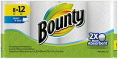 Bounty Select-A-Size Paper Towels, White - Giant Roll