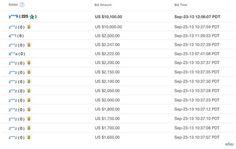 La edición oro del Iphone 5s, llega a precios exorbitantes en eBay