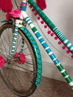 Bronwyn Opland - Customised bike for Leefest