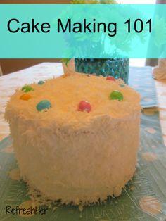Coconut Cake with Lemon Filling