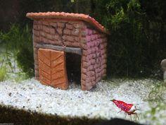 Garnelen Werkstatt Nano - Haus Versteck Aquarium Fische - www.AquaThier.de   eBay