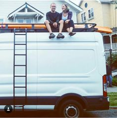 Ford Transit owners sitting pretty on their new #aluminess roof rack!  Photo cred: Laura Hughes