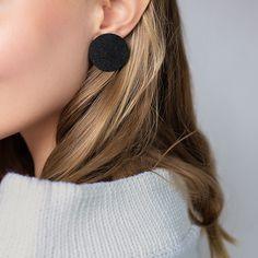 Wooden Jewelry, Stud Earrings, Stud Earring
