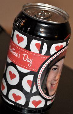 Wrap a Soda pop with a freebie digital download and Voila