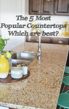 Various kitchen countertop options are available in the market today. Every material has its pros and cons. You can either choose natural materials like wood and stone or opt for man-made materials...