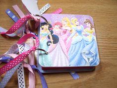 Disney Princess Autograph Book Disney Autographs by HampshireRose, $15.00