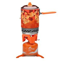 Camping Cooking Set Heat Collection Pot Outdoor Cookware Picnic Stove ** Find out more about the great product at the image link.(This is an Amazon affiliate link and I receive a commission for the sales)