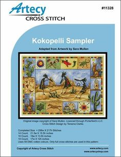 Kokopeli Sampler pattern