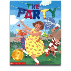 Another colorful, creative, jaw-dropping example of Barbara Reid's brilliance! Fun rhyming.